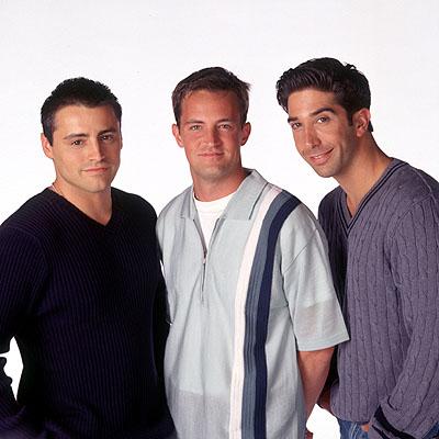 老友们与方-基默:Ross和Chan穿了谁的晚礼服