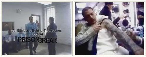 组图:《越狱》停播四月FOX网上推出花絮视频
