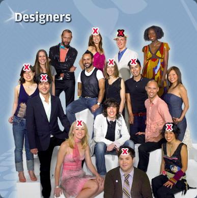 组图:第二季《伸展台计划》淘汰第9位选手8进7