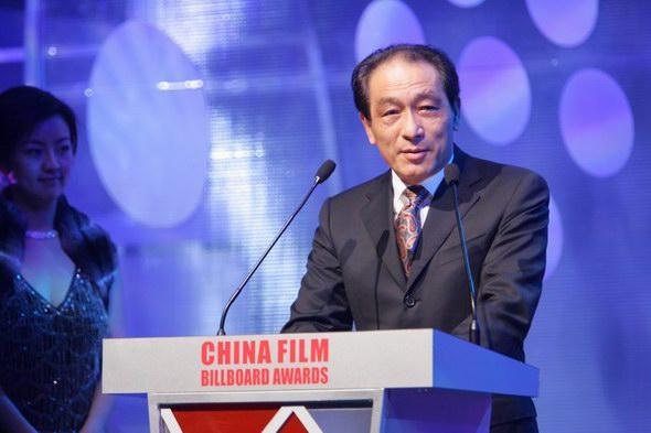图文:中国电影排行榜开榜-组委会主席朱永德