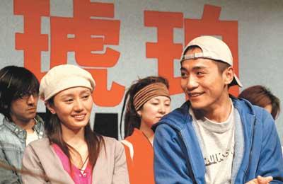 《琥珀》剧组昨首见北京观众即将亮相保利(图)