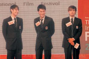 香港国际电影节开幕周杰伦人气不敌吴建豪(图)
