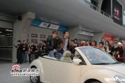 组图:周杰伦陈冠希刘伟强上海宣传《头文字D》