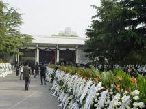 组图:陈逸飞追悼会上海举行社会名流纷至追悼