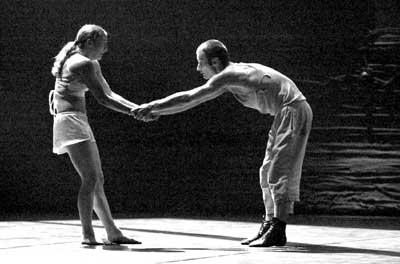 天桥剧场上演古典芭蕾舞剧《罗密欧与朱丽叶》