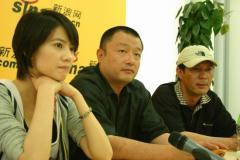 王小帅高圆圆姚安濂新浪聊《青红》(附视频)