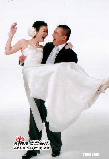 图文:杜汶泽和田蕊妮结婚照曝光(5)