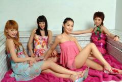 组图:内地最年轻女子团体明骏女孩精彩写真