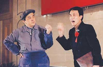 巩汉林做客《艺术人生》:赵丽蓉把我留在央视(图)图片