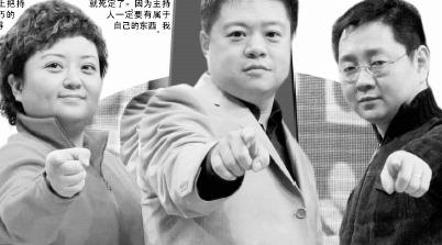 马东 叮当 张绍刚大话挑战主持人(图)_影音娱