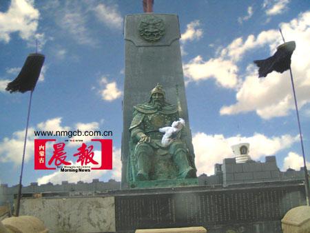 资料图片:充满蒙古风情的格根塔拉草原