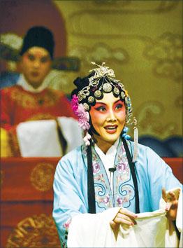 河北梆子陈三两爬堂_河北梆子剧院专场演出(图)