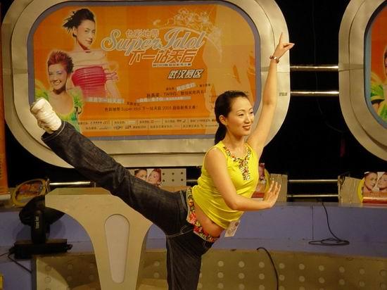 资料图片:下一站天后武汉复赛入围选手-李姿淇