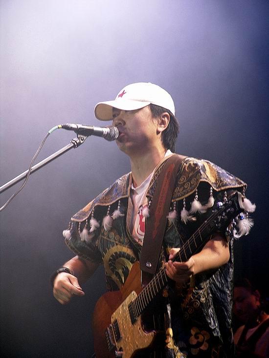 资料图片:崔健精彩瞬间(11)