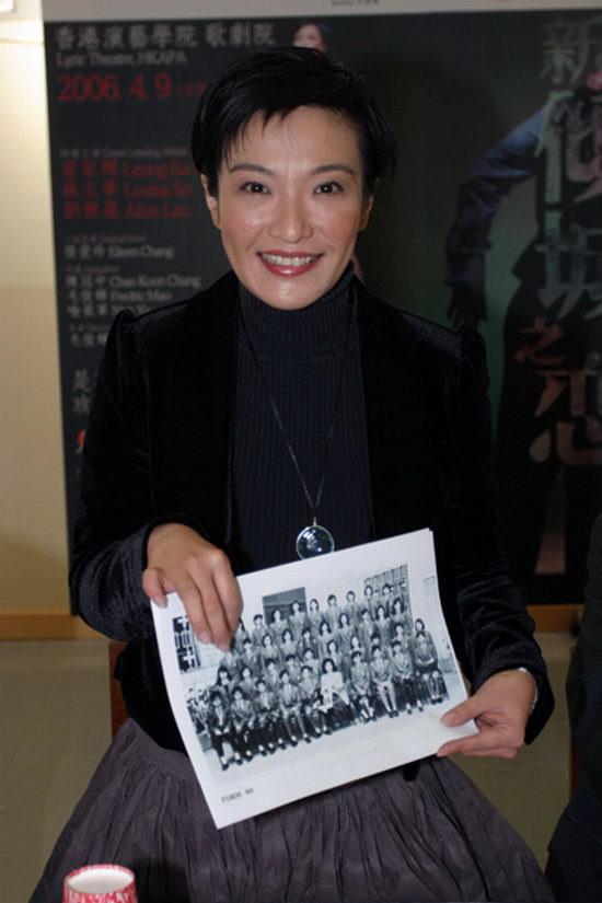 资料图片:《新倾城之恋》学校筹款夜记者会(2)