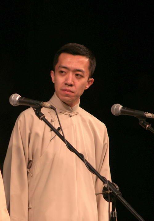 资料图片:相声演员李菁(3)