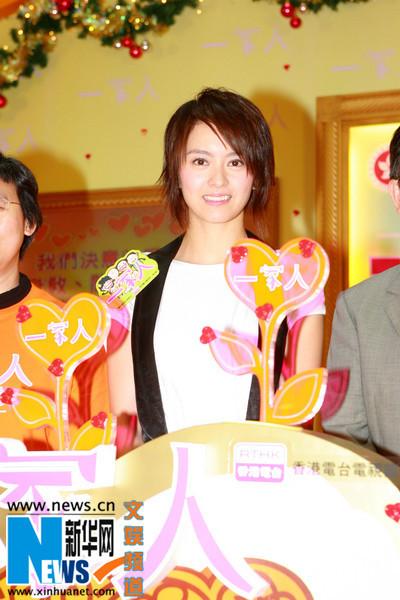 梁咏琪出席摄影赛颁奖礼公开与家人相处之道