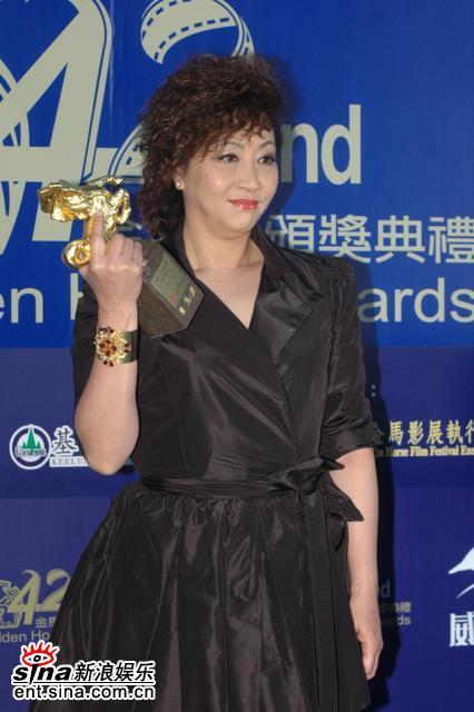 图文:第42届台湾电影金马奖最佳女配角-元秋