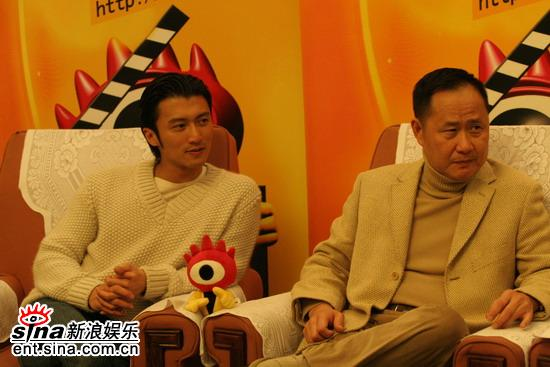 图文:《情癫大圣》首映专访-谢霆锋和刘镇伟