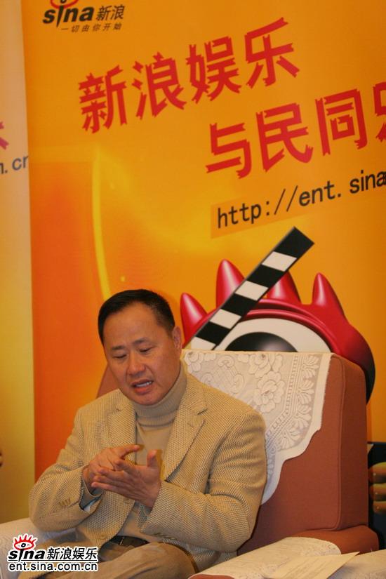 图文:《情癫》首映专访-刘镇伟回答网友提问
