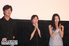 组图:高小英新片《公寓》首映众韩星风光捧场