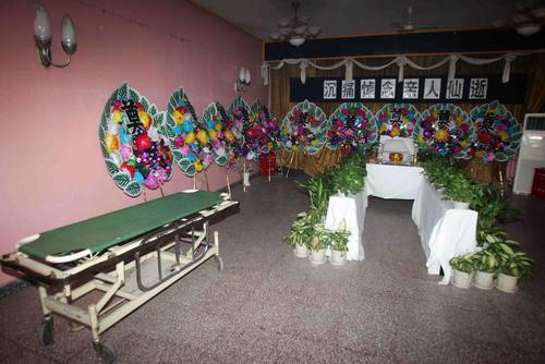 组图:马季心脏病去世中日医院太平间设灵堂