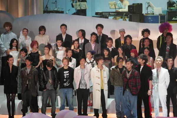 组图:TVB十大劲歌金曲颁奖礼众星出场阵容强大