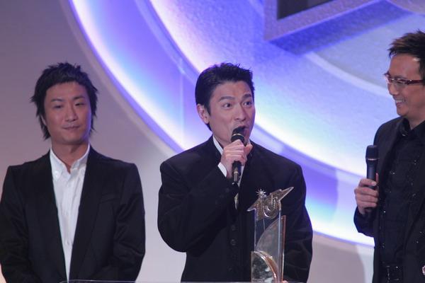 组图:TVB十大劲歌金曲颁奖礼刘德华获得大奖