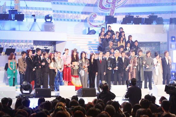 图文:香港十大中文金曲颁奖礼现场众明星登场