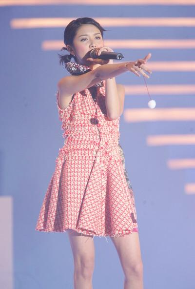 图文:薛凯琪现场演唱《奇洛李维斯回信》