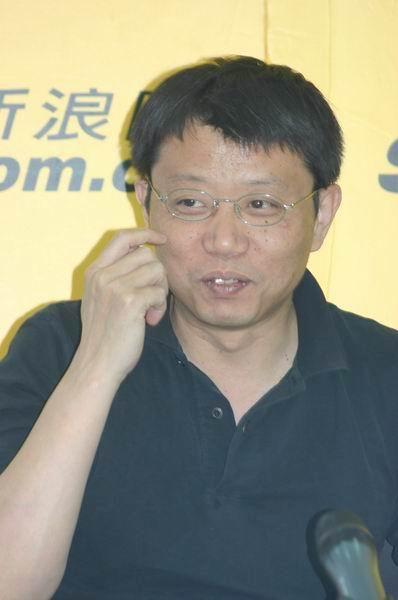 图文:太麦总经理宋柯与乐评人金兆钧作客新浪(14)