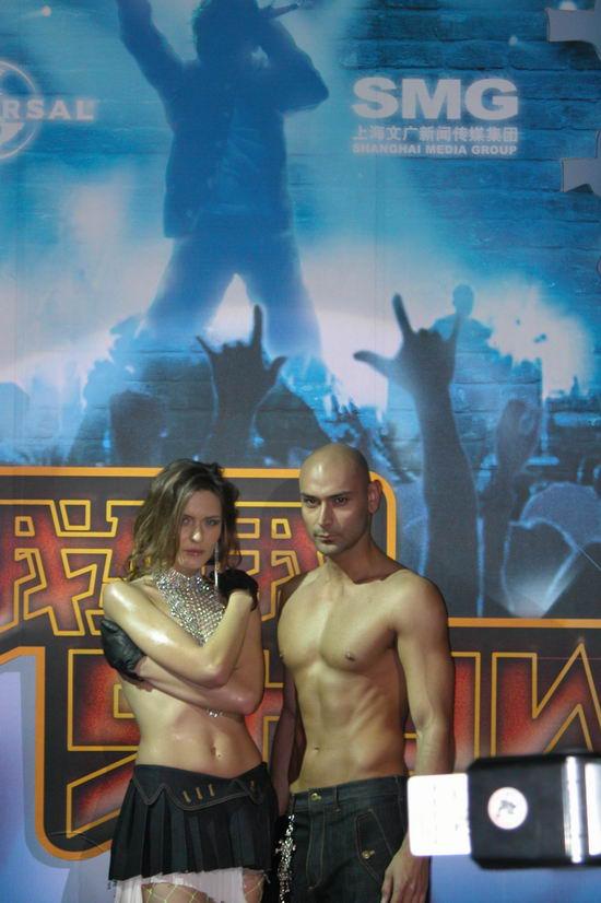 图文:2005莱卡我型我SHOW大赛宣告正式启动(12)