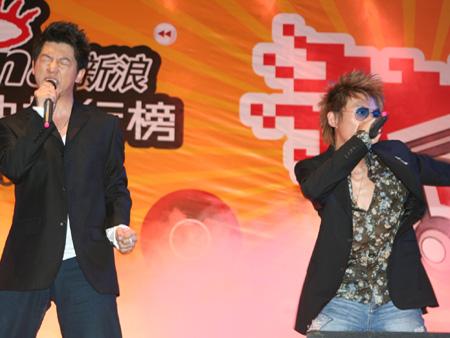 组图:新浪网路歌曲排行榜济南站见识羽泉的人气