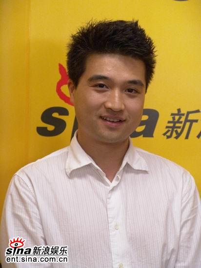 图文:刘扬在镜头前很自信