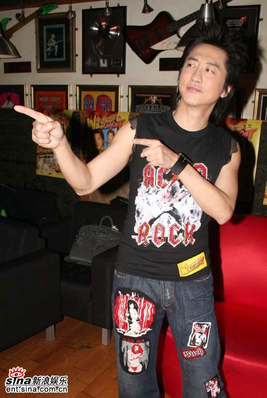 10月21日最酷男星:庾澄庆香港举行音乐会