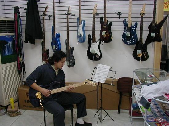 """中国""""首届网络音乐精英大赛""""报名选手:王政"""