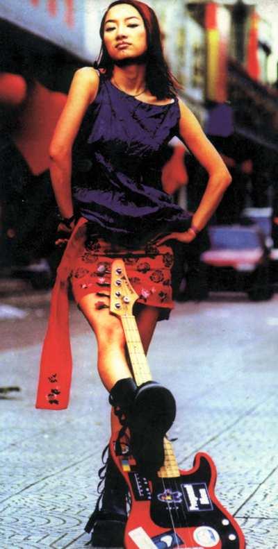 资料图片:桂林摇滚音乐节乐队图片-张浅潜(3)