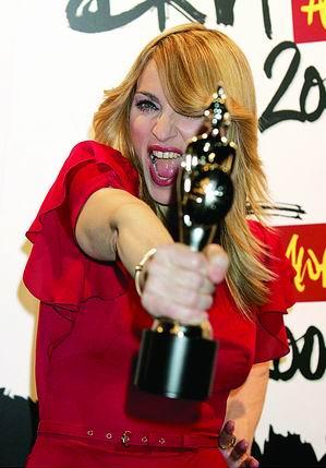 2006全英音乐奖揭晓麦当娜获最佳女歌手奖(图)