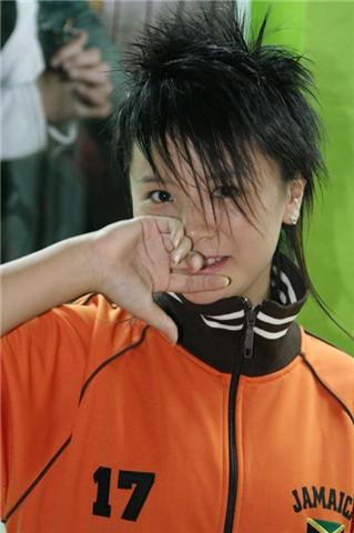 """资料图片:""""超级女声""""黄雅莉写真(36)"""