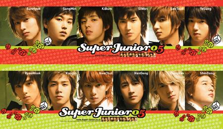 韩国偶像组合SuperJunior将首次登陆泰国演出