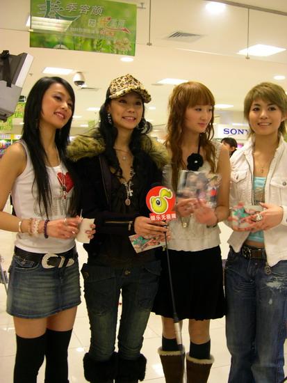 明骏女孩入围2005年MusicRadio中国TOP排行榜