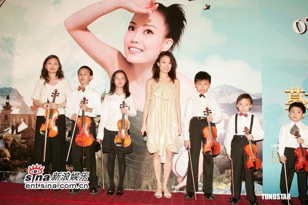 3月31日最美女星:容祖儿五月开唱邀小提琴大师