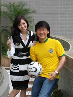 周华健创作世界杯歌曲邀请侯佩岑一同唱(附图)