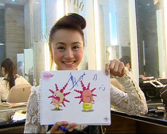 众星点评超女娃娃马锦涛要带10个女娃回家(图)