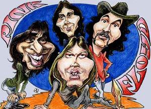 资料图片:英国传奇摇滚乐团平克-佛洛伊德(3)