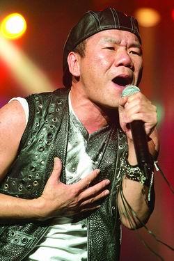 赵传重回北京开个唱现场爆满让他信心十足(图)