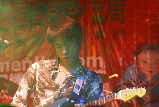 天津摇滚势力入袭北京20088乐队平均年龄仅8岁