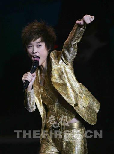 李宇春首唱会买不到票现场演出没有穿裙装(图)