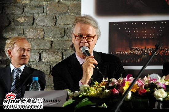 比利时小提琴家杜梅22日北京奏响《梁祝》(图)