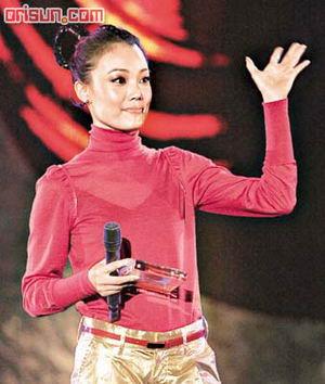 容祖儿撼败黎明杀入央视成春晚唯一香港歌手
